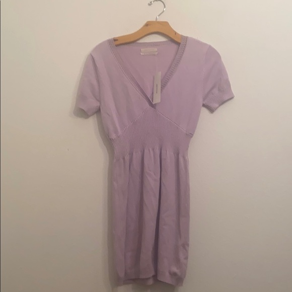 NWT URBAN OUTFITTERS SOLID PURPLE DRESS SIZE M